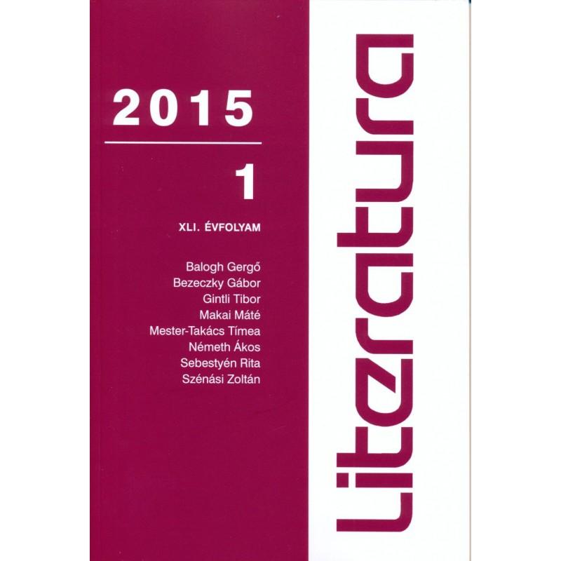 Literatura 2015/1