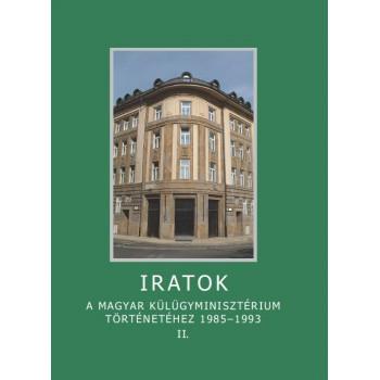 Sáringer János, Iratok a magyar Külügyminisztérium történetéhez 1985–1993. II.