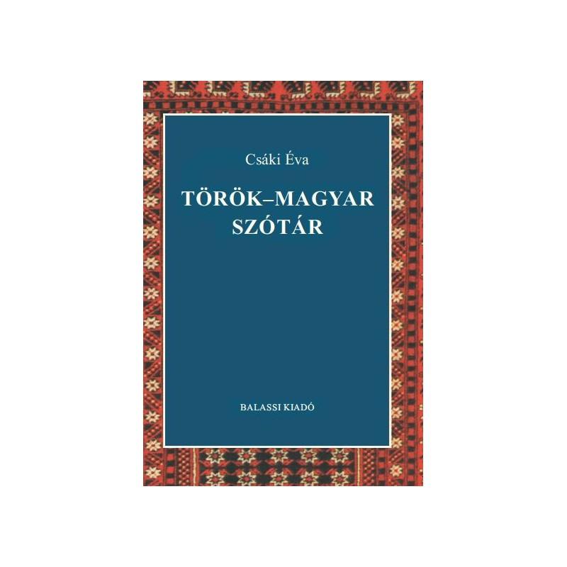 Csáki Éva, Török–magyar szótár