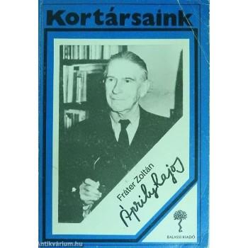 Fráter Zoltán, Áprily Lajos