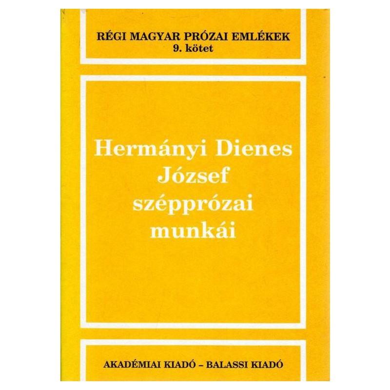 Hermányi Dienes József Szépprózai munkái