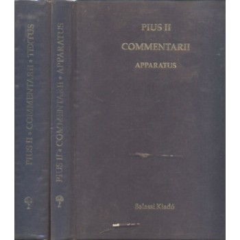 Pii Secundi pontificis maximi Commentarii, I–II