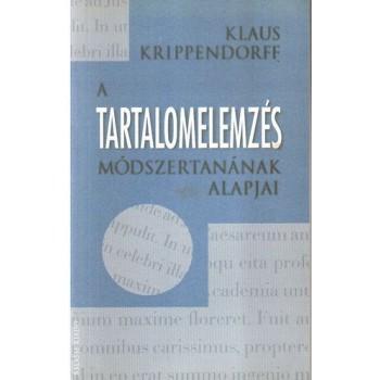Krippendorff, Klaus, A tartalomelemzés módszertanának alapjai