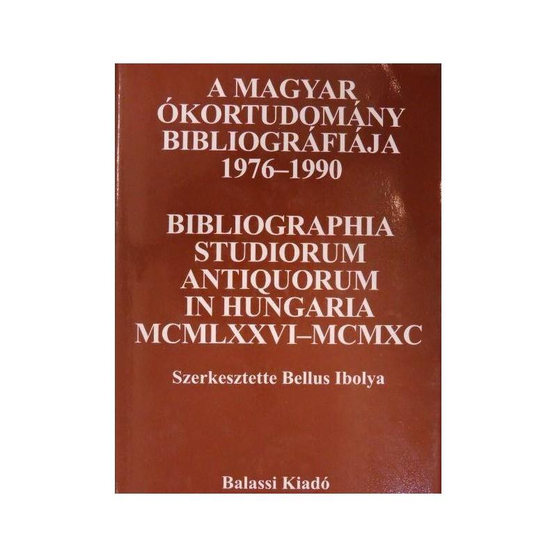 A magyar ókortudomány bibliográfiája 1976–1990