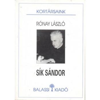 Rónay László, Sík Sándor