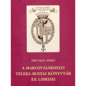 Deé Nagy Anikó, A Teleki–Bolyai Könyvtár ex librisei