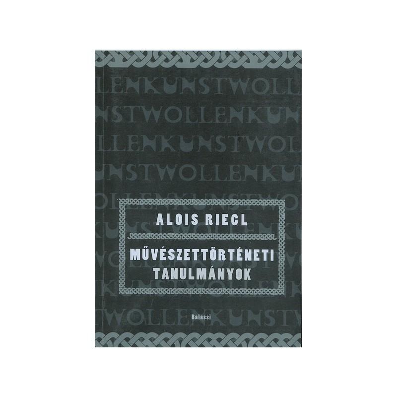 Alois Riegl, Művészettörténeti tanulmányok