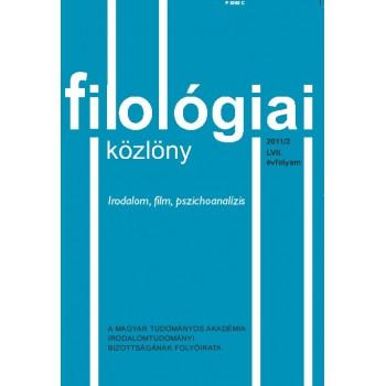 Filológiai Közlöny 2011/2