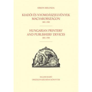 Simon Melinda, Kiadói  és nyomdászjelvények  Magyarországon 1801–1900