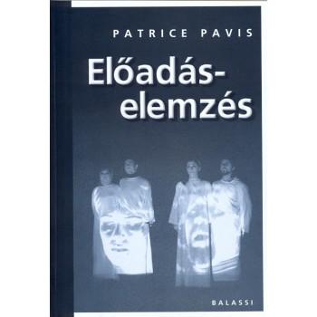 Patrice Pavis, Előadáselemzés