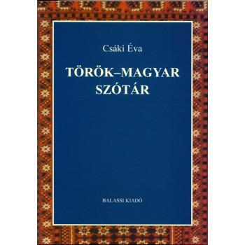 Csáki Éva: Török–magyar szótár