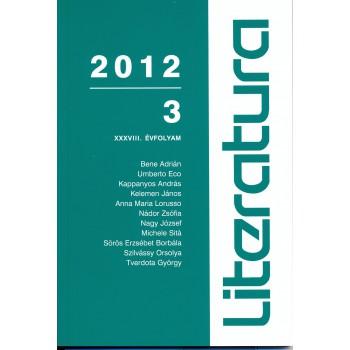 Literatura 2012/3