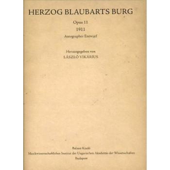 Bartók Béla,  Herzog Blaubarts Burg  (1911)